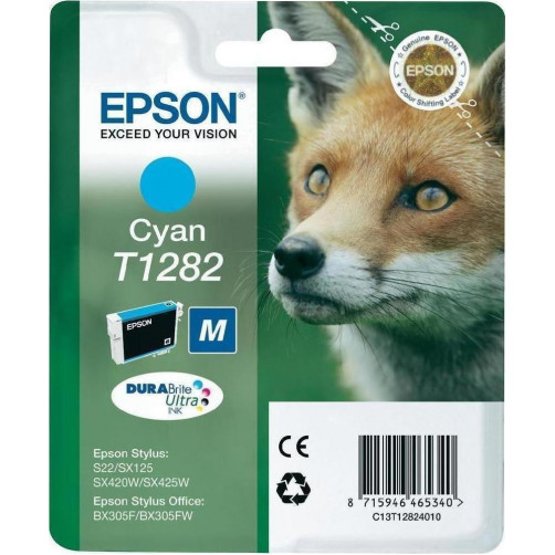 EPSON INK CYAN T1282 (C13T128240) Αναλωσιμα