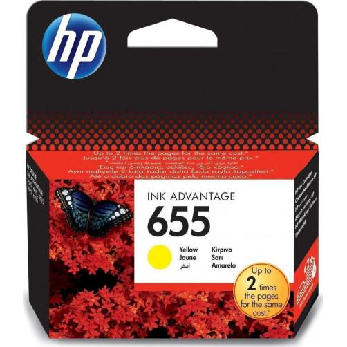 HP NO 655 YELLOW Αναλωσιμα (CZ112AE)
