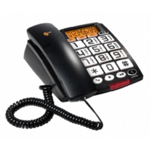 TOPCOM A801 BLACK Ενσυρματα Τηλεφωνα