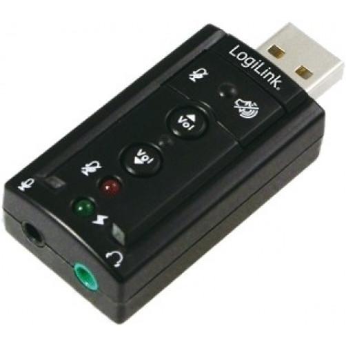 LOGILINK UA0078 (Ήχος 7.1) Κάρτα Ηχου USB
