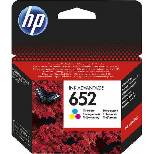 HP 652 TRI-COLOR