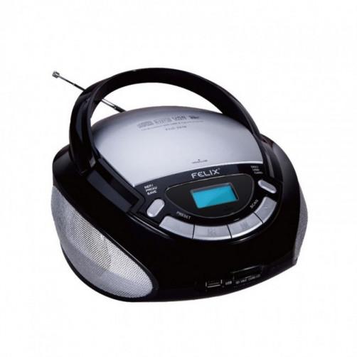 FELIX FCD3916 RADIO CD Φορητα Ραδιο-Cd