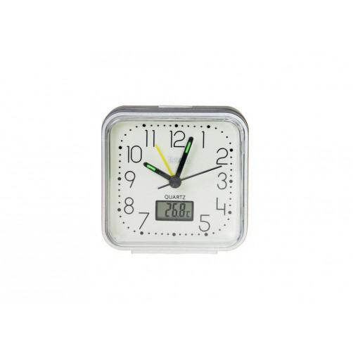 TELCO XG-8676G Silver με θερμόμετρο (03.031) ΞΥΠΝΗΤΗΡΙ