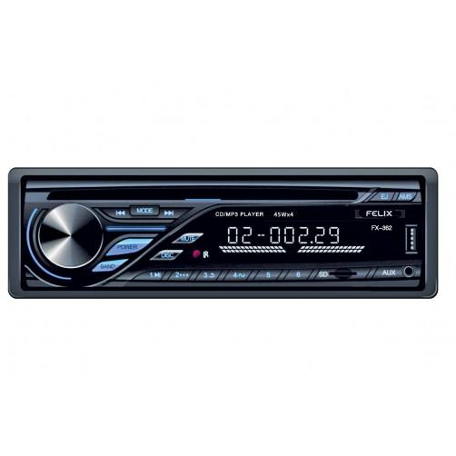 FELIX FX-362 Ραδιο Cd/Mp3/Τηλεχειριστήριο Αυτοκ/του