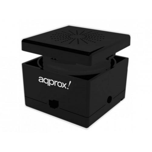 APPROX FEEL CUBE Φορητό ηχείο 3W Bluetooth Ηχεία Black
