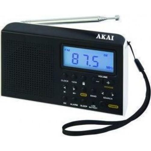 AKAI AWBR-305 Ραδιοφωνo Μαύρο