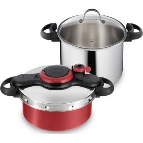 TEFAL CLIPSO EASY 7,5L+5L P46353 Σετ μαγειρικών σκευών