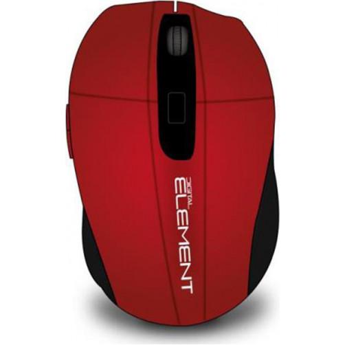 ELEMENT MS-175R WIREL Ποντικια Red