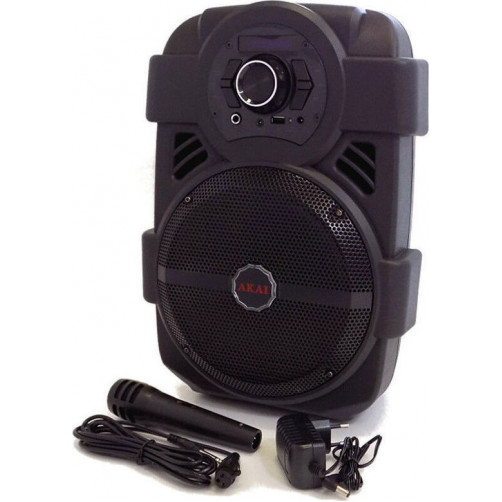 AKAI ABTS-808L ME LED Bluetooth Ηχεία