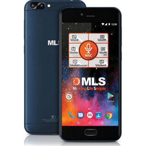 MLS DX 4G Dual Camera Smartphones Blue