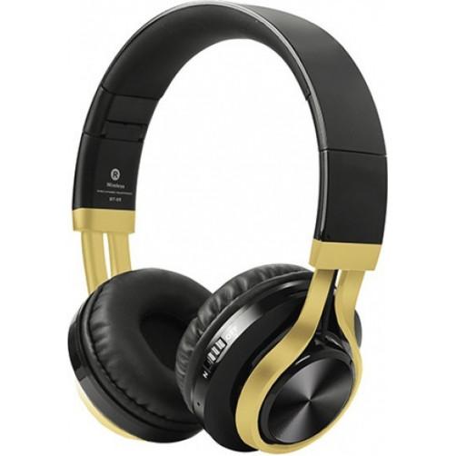 CRYSTAL AUDIO BT-01-KG Handsfree Black/Gold