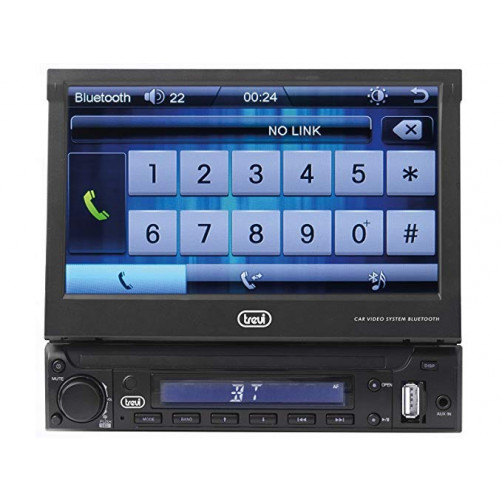 TREVI MDV 6350BT 7'' Touch Screen 1DIN Car Audio Player
