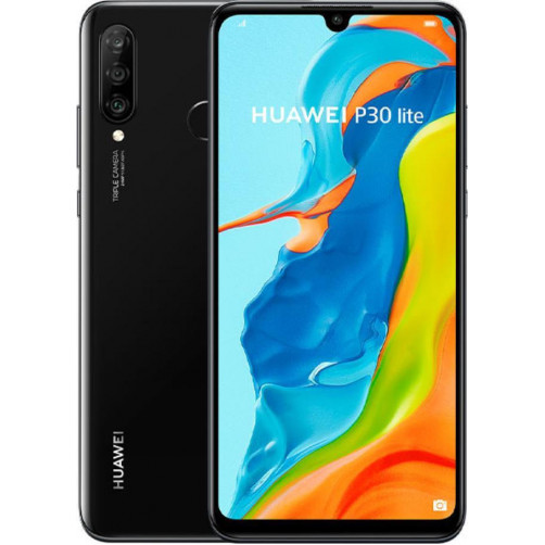 HUAWEI P30 LITE 4GB/64GB Smartphone Midnight Black (EAN: 6901443384358)