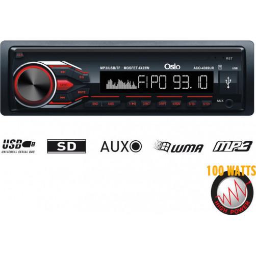 OSIO ACO-4369UR Car Audio Player