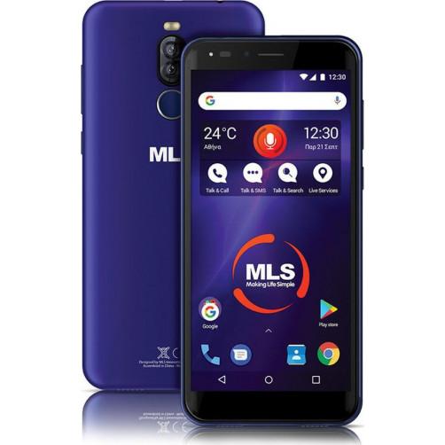 MLS DX LITE 5.7'' 3G Smartphone Blue