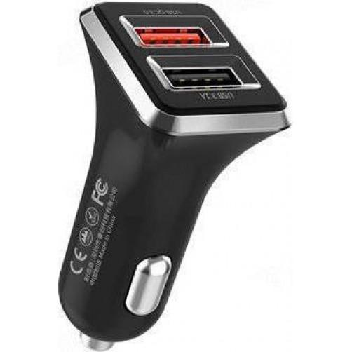 Φορτιστής αυτοκινήτου WK WP-C19 Dual USB 3.1A & QC3.0