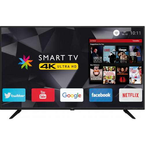 TREVI UHD-5003/BK LED SMART Τηλεόραση Black