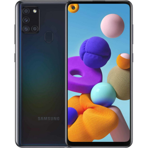 SAMSUNG GALAXY A21s 3GB/32GB DS (SM-A217) Smartphones Black