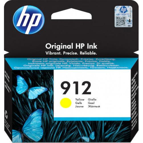 HP HP 912 Yellow (3YL79AE) Αναλώσιμα