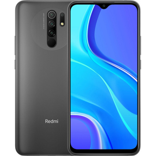 XIAOMI REDMI 9 4GB/64GB Smartphones Grey (EAN: 6941059646112)