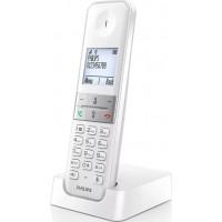 PHILIPS D4701W/34 ΛΕΥΚΟ Ασύρματο Τηλέφωνο