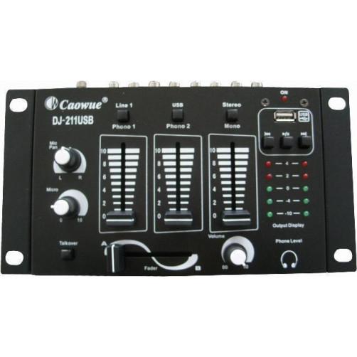 TELE DJ-211USB Μίκτης ήχου