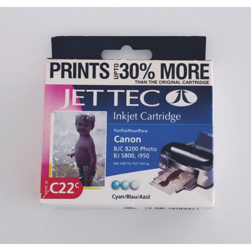 Jet Tec 9253CJB C22C ink cyan