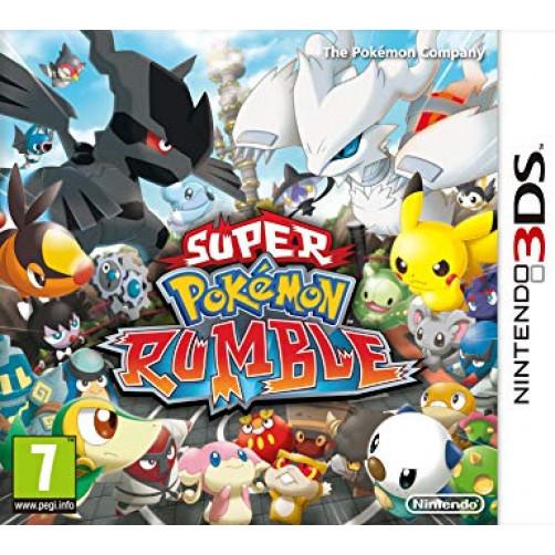 SUPER POKEMON RUMBLE NINTENDO 3DS