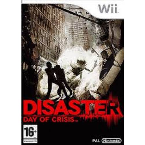 Disaster: Day of Crisis NINTENDO Wii