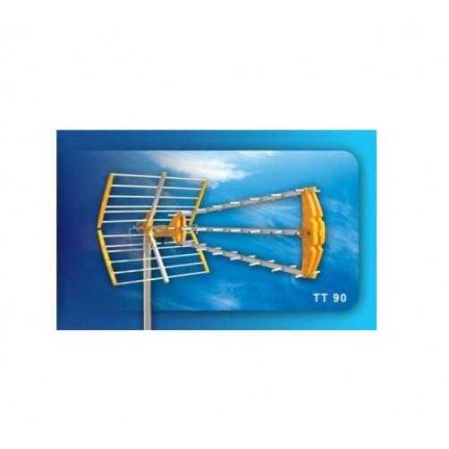 Κεραία τηλεοράσεως UHF ΤΡΙΠΛΗ ΜΙΚΡΗ ΤΤ90