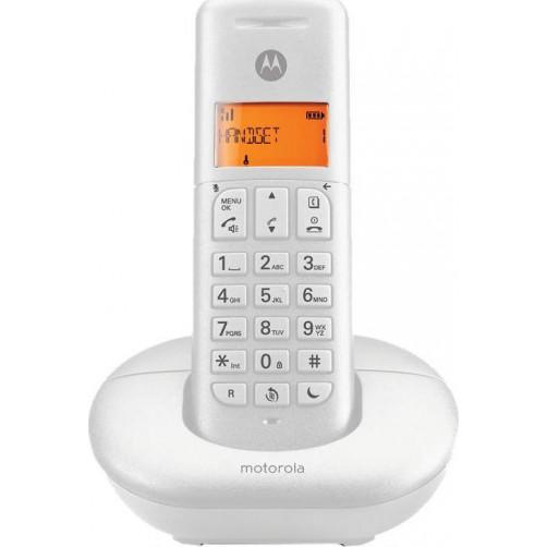 MOTOROLA E201 Ασύρματο Τηλέφωνο White