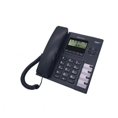 ALFATEL 1308 Ενσύρματο τηλέφωνο Black