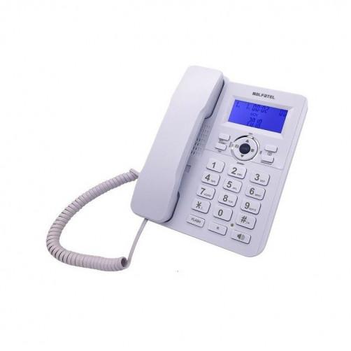 ALFATEL 1210 Ενσύρματο Τηλέφωνο White