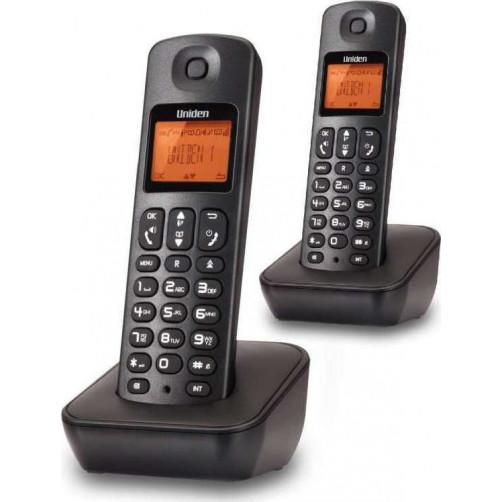 UNIDEN AT-3100-2 Ζευγάρι Ασύρματα τηλέφωνα Black