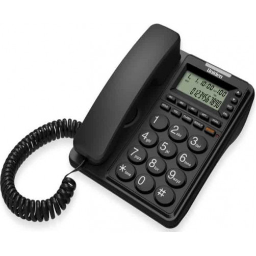 UNIDEN CE-6409 Μαύρο Ενσύρματα Τηλέφωνα