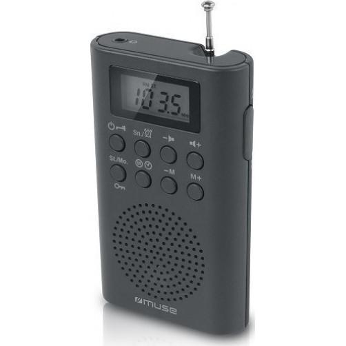 MUSE M-03R Μπαταρίας και Ρεύματος Ψηφιακό Ραδόφωνο