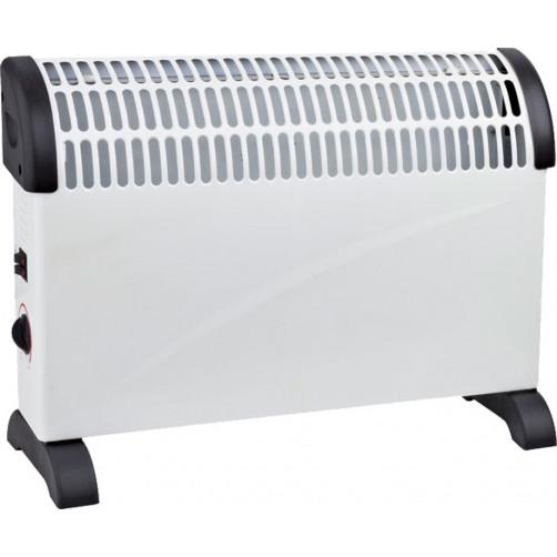 BORMANN BEH2000 (023074) Επιδαπέδιος Θερμοπομπός 2000W με Θερμοστάτη Λευκό