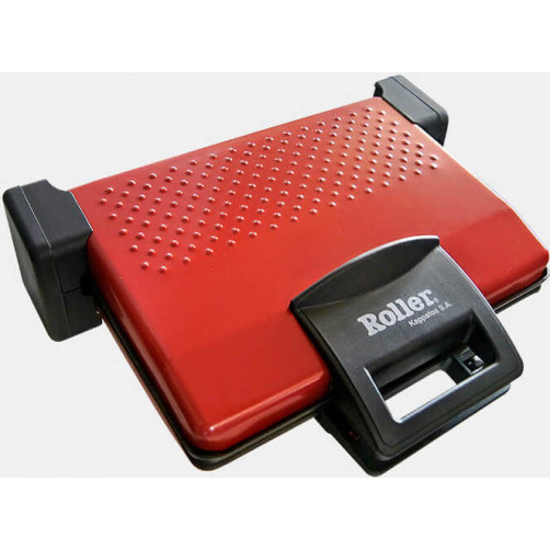 ROLLER 10132 1800W Σαντουιτσιέρες/Τοστιέρες Red