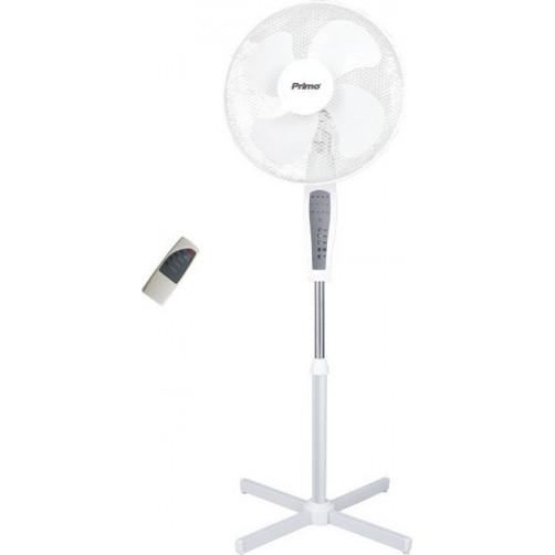PRIMO PRSF-80504 με Τ/Χ Ανεμιστήρας Δαπέδου Λευκός